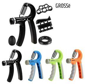 10-60KG Adjustable Hand Grip Strengthener Wrist Forearm Trainer Exerciser