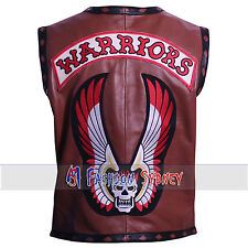 THE WARRIORS HIGH QUALITY SYNTHETIC LEATHER VEST JACKET