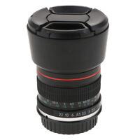 85mm f/1.8 Portrait Lens for Canon EOS 1300D 1200D 1100D 1000D 750D 600D 7D