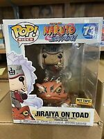 FUNKO POP! RIDES NARUTO SHIPPUDEN #73 JIRAIYA ON TOAD HOT TOPIC EXCLUSIVE MINT