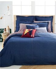 Tommy Hilfiger Jean Denim Comforter Full Queen Sham Set