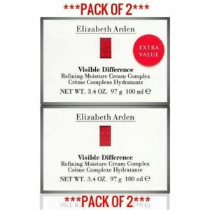 ELIZABETH ARDEN Visible Difference Moisture Cream 100ml ***PACK OF 2***