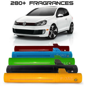 Car Freshener Vent Clip with 10ml Refill, 5 Colors for Volkswagen Golf R GTI GTD