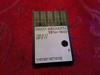 Groz-Beckert Sewing Needles 135x17, DPx17, Sz 160/23 23 Consew 206RB, 225, 226,