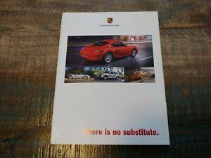 Nice Original 2007 Porsche 911 Boxster There Est No Substitut Sales Brochure