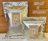 100%Natural Rolled Oats(Quick Cook)OatMeal Mylar Bag(MRE)Emergency Food