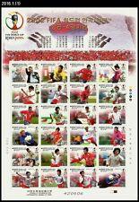 Sports,Soccer,2002 FIFA World Cup,Korea 2002 Full Sheet,Guus Hiddink's Magic