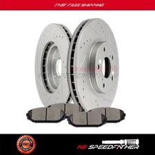 Front Brake Rotors Discs And Ceramic Pads Kits For Honda Odyssey 1999 2000-2004