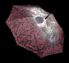 Skull Umbrella - Oriental Skull Von Anne Stokes - Gothic Fantasy Umbrella