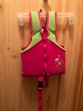Swim school life vest weight 20-33 lbs UPF 50—gently used