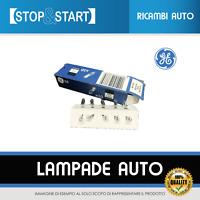 10 LAMPADINE LAMPADE LUCI QUADRO CRUSCOTTO AUTO 12V 1,2 W GENERAL ELETTRIC