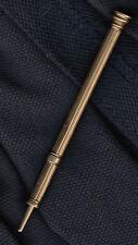 Vintage Samual Mordan 14 carat gold propelling pencil approx 7 grams, scarce