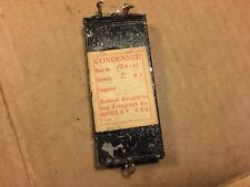 Antique 132-W Capacitor Federal Telephone & Telegraph .5 uf Condenser Tested