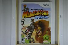 Madagascar KARTZ (Nintendo Wii 2009) CIB COMPLETE