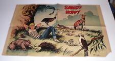 Poster Spirou 1656 Sandy et Hoppy WILLY LAMBIL