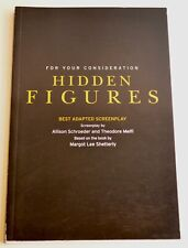 Hidden Figures • For Your Consideration •Best Adapted Screenplay •Unread PB