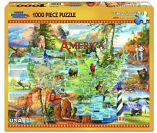 White Mountain - NATIONAL PARKS of AMERICA 1,000 piece puzzle. NEW! USA!