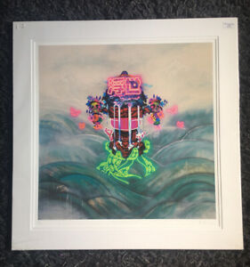 """TOM LEWIS b1979 """"Megan and the Floating World"""" Limited Edition Print 39/43"""