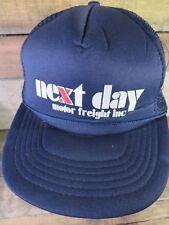 NEXT DAY Motor Freight Inc Trucker Snapback Adjustable Adult Hat Cap