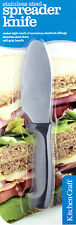 Kitchen Craft 20cm Round Ended Butter Sandwich Spreading Spreader Table Knife