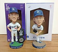 Clayton Kershaw 2015 AND 2016 Los Angeles Dodgers Bobblehead SGA Set