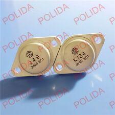 1 Paar Transistor Hitachi TO-3 2SJ49/2SK134 J49/K134