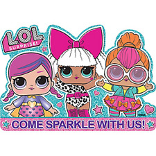 LOL SURPRISE INVITATIONS (8) ~ Birthday Party Supplies Stationery Cards Notes