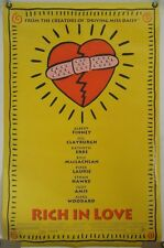 RICH IN LOVE DS ROLLED ORIG 1SH MOVIE POSTER KATHRYN ERBE ETHAN HAWKE (1993)