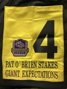 GIANT EXPECTATIONS 2ND PLACE 2019 PAT O'BRIEN SADDLE CLOTH DEL MAR