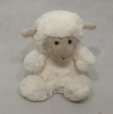 "Jellycat London White Lamb Good From Birth. 5.5"". Bean Bag.Sa12"