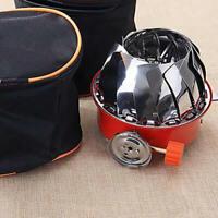 Mini Folding Stove Burner Butane Gas Cooker Camping Outdoor Windproof Portable