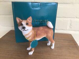 JAPANESE AKITA DOG MODEL NEW AND BOXED BY LEONARDO