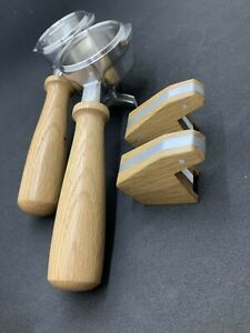 Milano Style 2 Group Manual Paddle Kit Complete – American Oak Coffee Machine