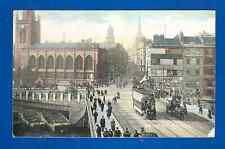 "Postcard Bristol Bridge, The ""National"" Series pre 1914"