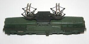 Train Ho -- Pièce de rechange -- locomotive BB 13001-- bleu ou vert -- Jouef --