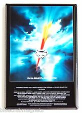 Superman the Movie Fridge Magnet (2.5 x 3.5 inches) movie poster
