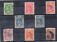 Chile Cristobal Colón Valores del año 1900-1 (DE-500)