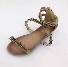 Calzado de niña sandalias de color principal azul sintético