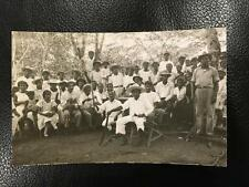 RPPC Ca 1930 Villalobos Panama Peasants with Machetes Revolution