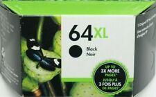 HP 64XL N9J92AN Black High Yield Ink Cartridge Genuine OEM (EXPIRE 01/2021)