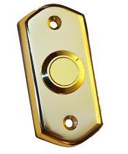 Latón Pulido Estilo Victoriano Puerta Campana Pulsador Interruptor por Carlisle Brass (AQ31)