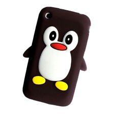 Fundas y carcasas color principal negro de silicona/goma para teléfonos móviles y PDAs