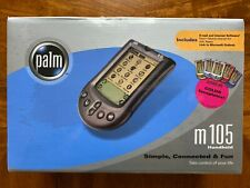 Palm m105 Handheld w/Hot Sync Cradle New in Box *Factory Sealed*