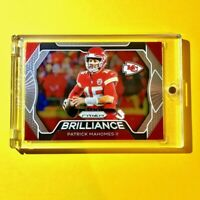 Patrick Mahomes PANINI PRIZM HOT BRILLIANCE INSERT CHIEFS CARD 2019 #B-PM - Mint