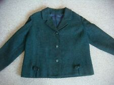 Vintage 1950's Fully Lined Short Boxy Jacket Bust 44""