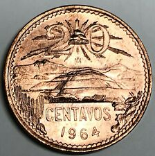 # C2993     MEXICO   COIN,     20  CENTAVOS   1964  Unc.