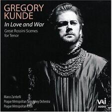 Gregory Kunde - In Love & War - Great Rossini Tenor Arias [New CD]