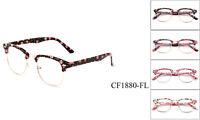 New Clear Lens Glasses Retro Classic Women Girl Floral Desinger Fashion Eyewear