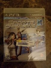 SPORTS CHAMPIONS (PlayStation 3, 2010; PS3) Requires PS Move BRAND NEW & SEALED