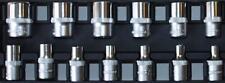 13 Piezas 0.6cm UNIDAD Enchufe Métrico 4-14mm